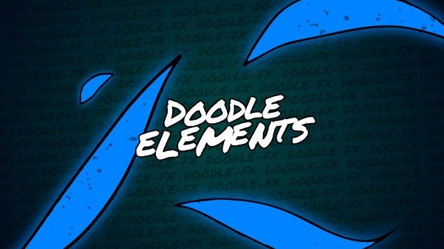 Photo of Doodle Elements – MotionArray 962379