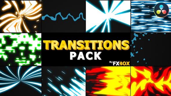 Photo of Dynamic Elemental Transitions | DaVinci Resolve – Videohive 32079630