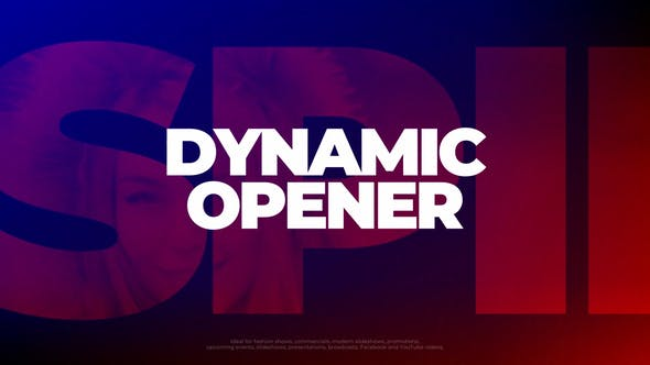 Photo of Dynamic Opener – Videohive 29913671