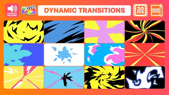 Photo of Dynamic Transitions | FCPX – Videohive 31973145