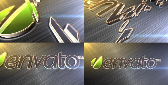 Photo of Elegant Metallic Logo Reveal – Videohive 3063405
