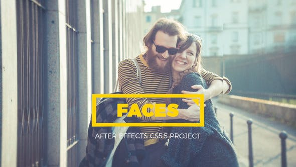 Photo of Faces – Parallax Kaleidoscope Gallery – Videohive 23119139