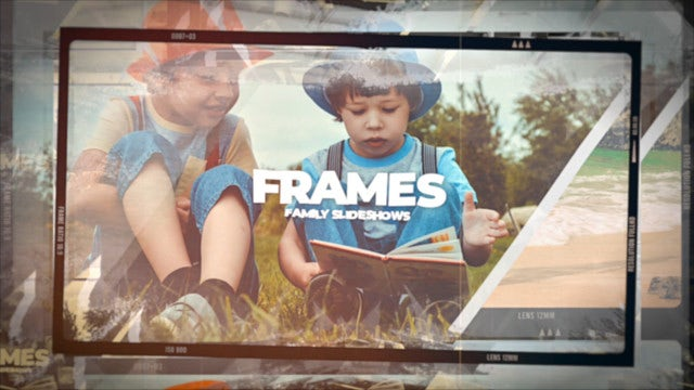 Photo of Family Frames – MotionArray 968560