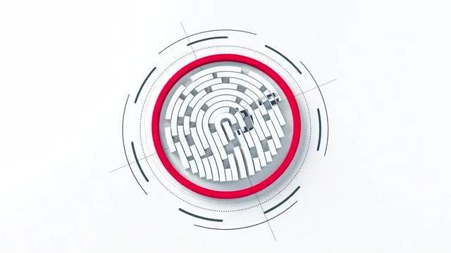 Photo of Fingerprint Logo – MotionArray 969510