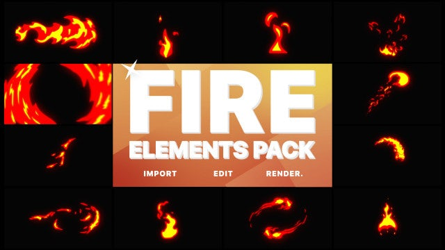 Photo of Fire Elements – MotionArray 967164