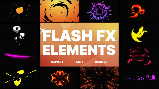 Photo of Flash FX Pack – MotionArray 955309