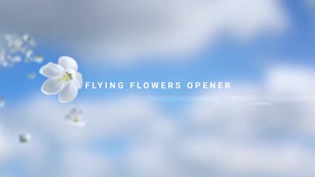 Photo of Flying Flowers Opener – MotionArray 969569