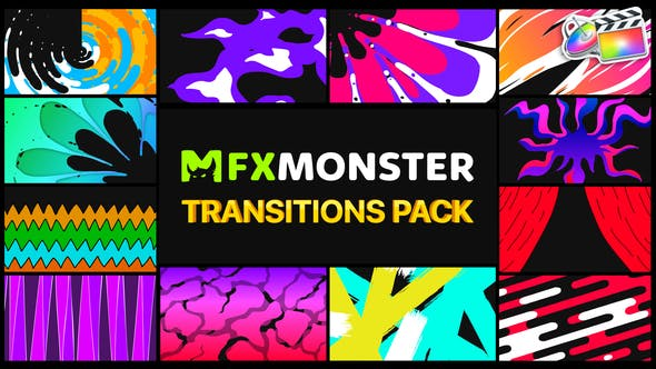 Photo of Handy Colorful Transitions | FCPX – Videohive 31979920