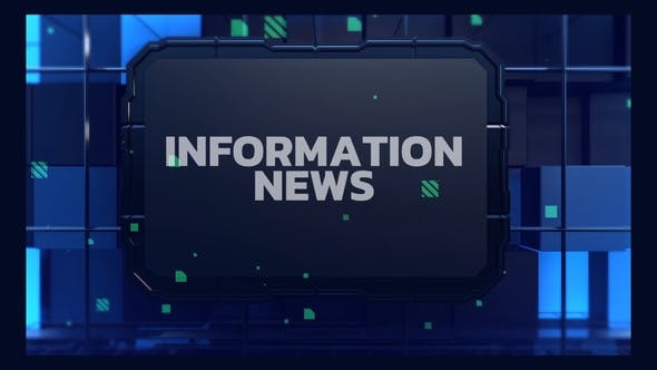 Photo of Information News Opener – Videohive 32096952