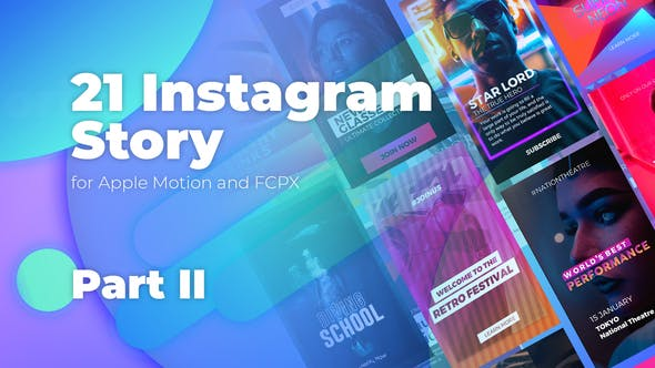 Photo of Instagram Stories for Apple Motion and FCPX Part 2 – Videohive 22785014