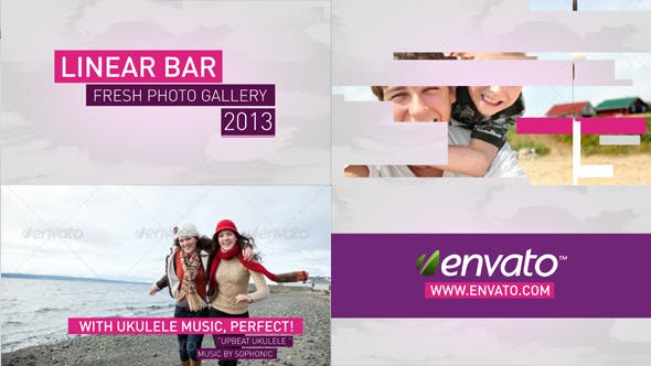 Photo of Linear Bar Slides – Videohive 4311463