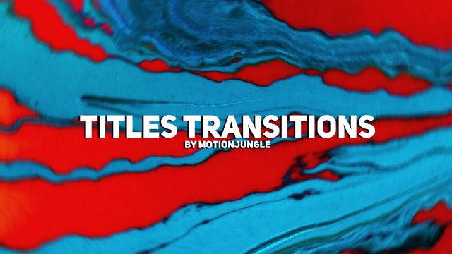 Photo of Minimalistic Titles Transitions – MotionArray 968332