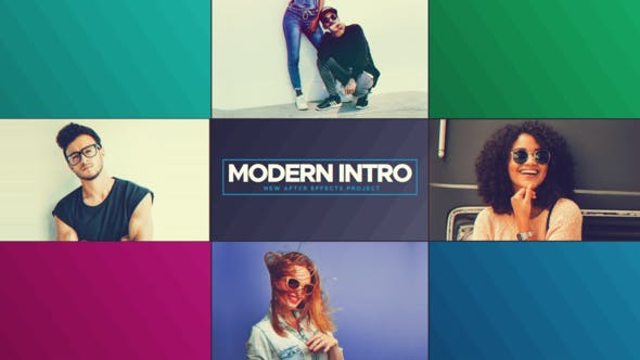 Photo of Modern Intro – Videohive 21509920