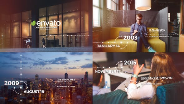 Photo of Modern Timeline – Videohive 21404356