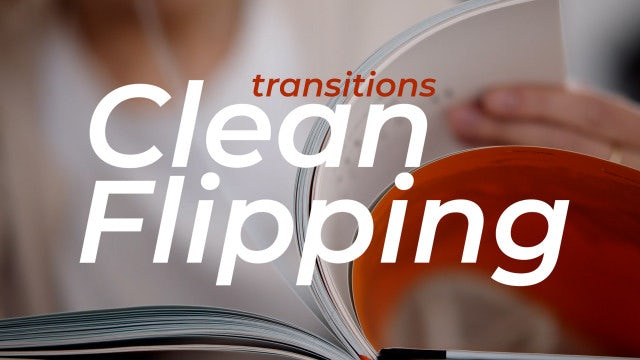 Photo of Clean Flipping Transitions – MotionArray 965091