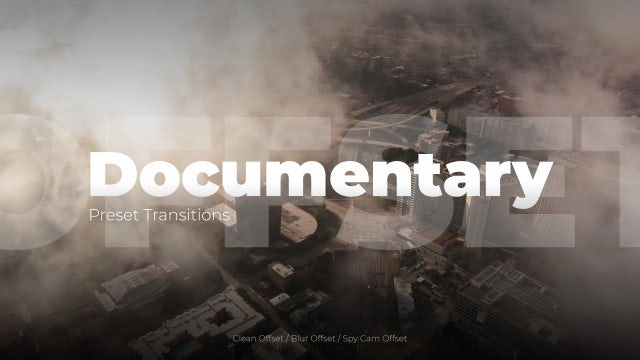 Photo of Documentary Offset Transitions – MotionArray 967802