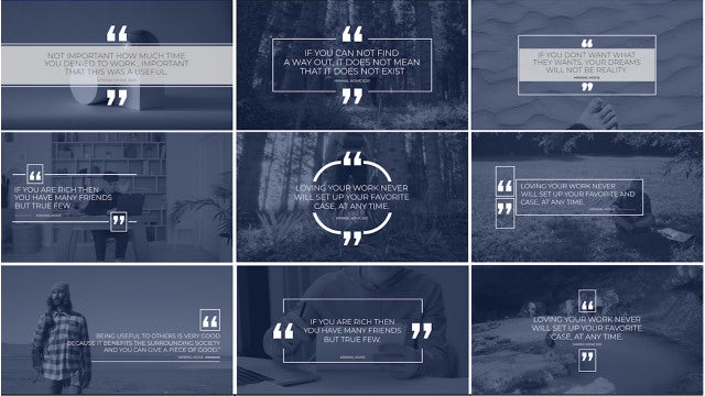Photo of Quote Titles – Minimal #1 – MotionArray 967312