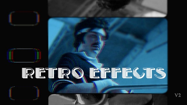Photo of Retro Effects V2 – MotionArray 969073