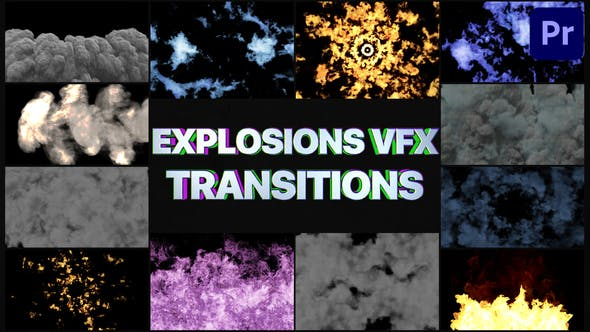 Photo of Smoke And Explosions VFX Transitions | Premiere Pro MOGRT – Videohive 32051792