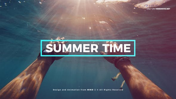 Photo of Summer – Dynamic Intro Slideshow Opener – Videohive 22508561
