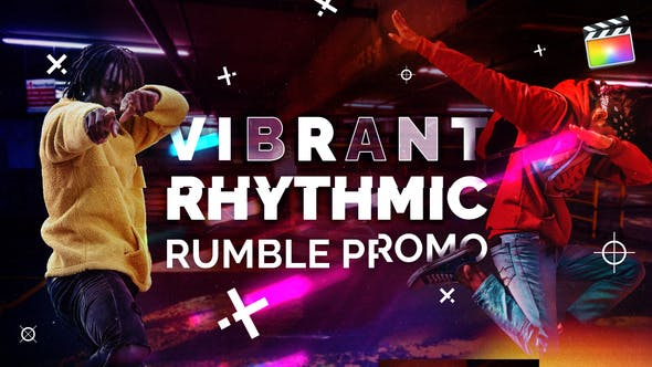 Photo of Vibrant Rhythmic Rumble Promo | For Final Cut & Apple Motion – Videohive 32063616