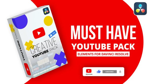 Photo of YouTube Pack – Videohive 32034619