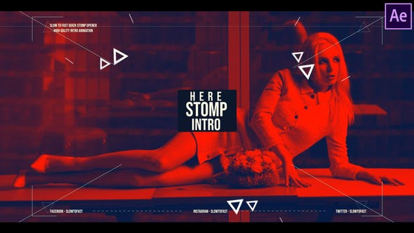 Photo of Actionable colorful stomp intro – Videohive 24645329