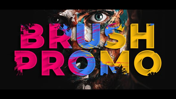 Photo of Colorful Brush Promo – Videohive 24650205