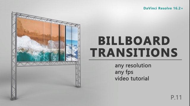 Photo of Drag-N-Drop Billboard Transitions – MotionArray 984660