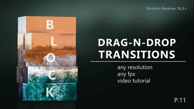 Photo of Drag-N-Drop Block Transitions – MotionArray 979334
