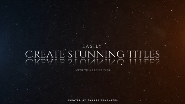 Photo of Cinematic Text – MotionArray 982116