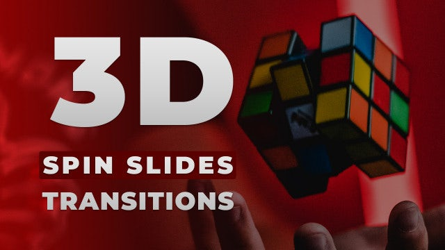 Photo of 3D Spin Slides Transitions – MotionArray 983483