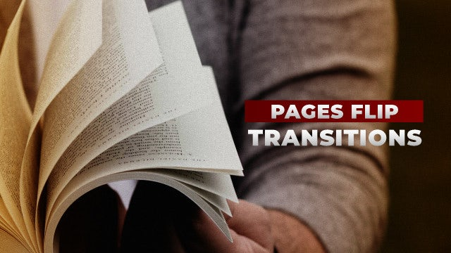Photo of Pages Flip Transitions – MotionArray 983484