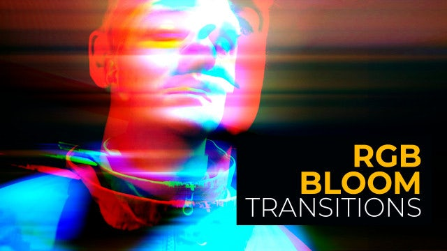 Photo of RGB Bloom Transitions – MotionArray 973902