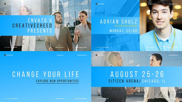 Photo of Minimal Conference Promo / Corporate Event / Meetup Opener / Business Coaching / Speakers – Videohive 24663938