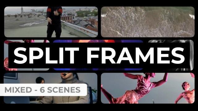 Photo of Split Frames Kit – MotionArray 984253