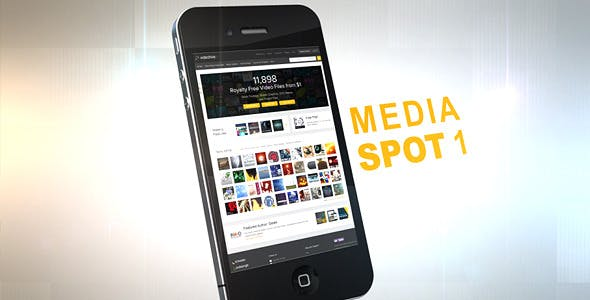 Photo of Web Page In Mobile – Videohive 640422