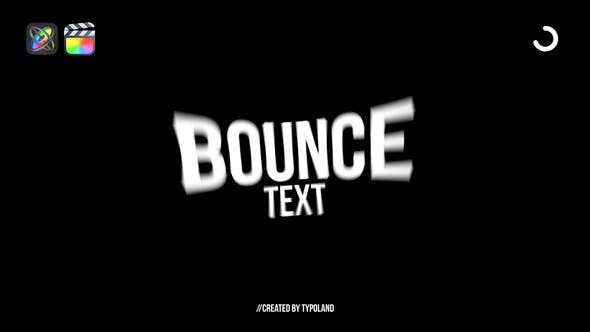 Photo of 50+ Bounce Text Animations – Videohive 33123796