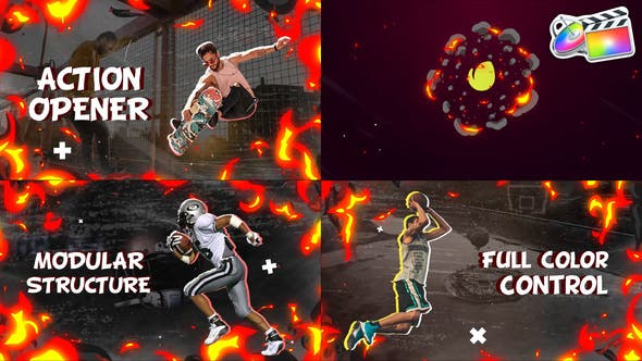 Photo of Action Slideshow   FCPX – Videohive 33165714