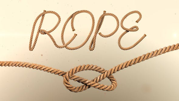 Photo of Animated Rope Text – Videohive 12576250