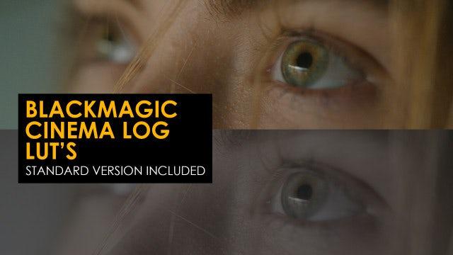 Photo of Blackmagic Cinema Log And Standard Luts – MotionArray 996689