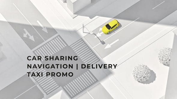 Photo of Car Sharing | Navigation | Delivery | Taxi DR – Videohive 33124018