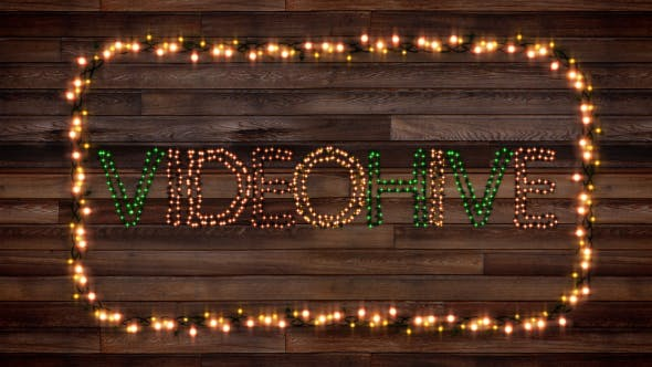 Photo of Christmas Lights Letters V2.0 – Videohive 13414658