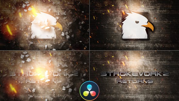 Photo of Cinematic Fire Impact Logo – DaVinci Resolve – Videohive 33054572
