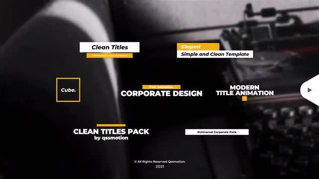 Photo of Corporate Titles Pack – DaVinci Resolve – MotionArray 988844