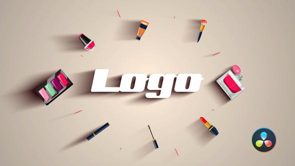 Photo of Cosmetic Makeup Logo – Videohive 33171937