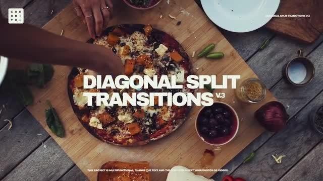 Photo of Diagonal Split Transitions V.3 – MotionArray 965537