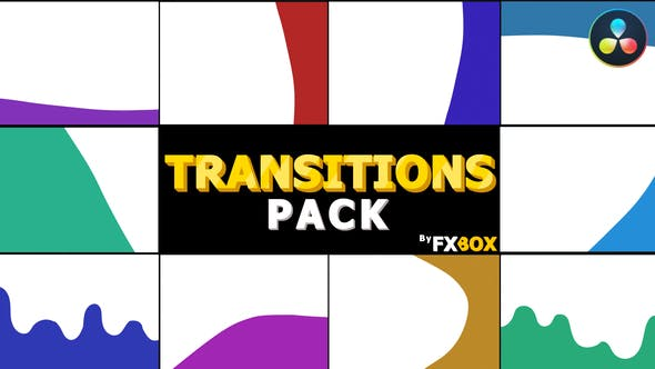 Photo of Dynamic Cartoon Transitions | DaVinci Resolve – Videohive 33212513