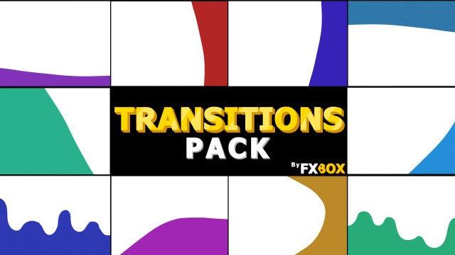 Photo of Dynamic Cartoon Transitions – MotionArray 999112