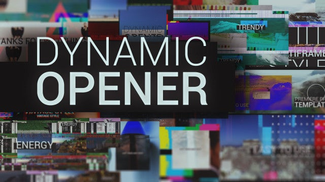 Photo of Dynamic Opener – MotionArray 994908